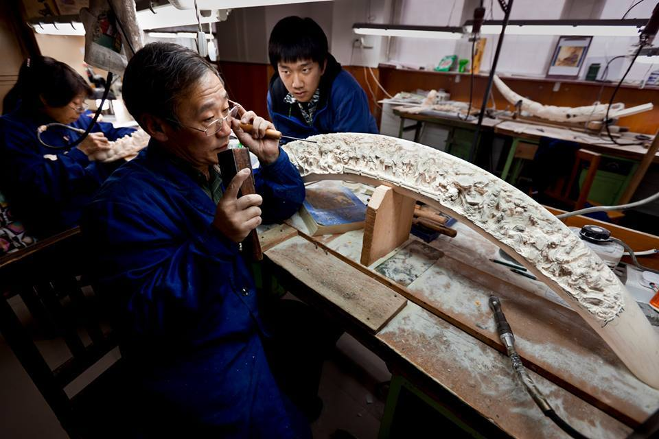 CHINA - CARVING