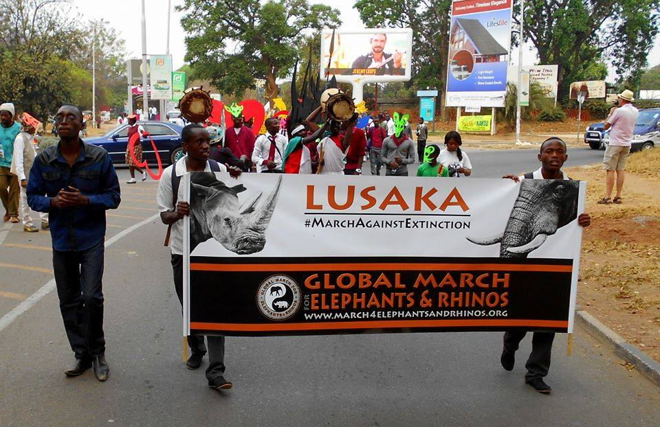 MARCH - LUSAKA