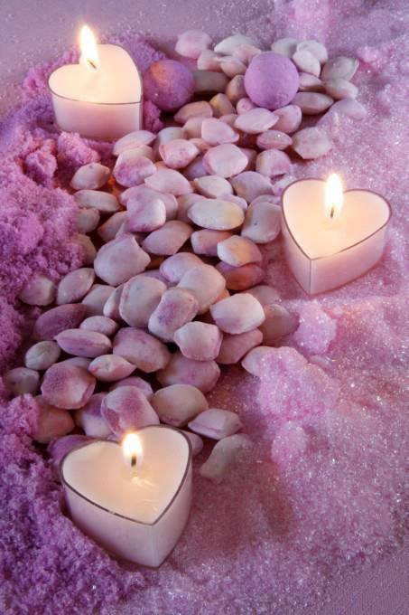 CANDLE - STONES